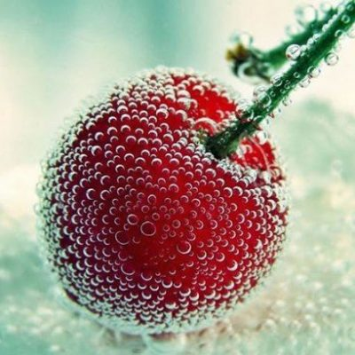 Fruit Marcro + Water Droplets